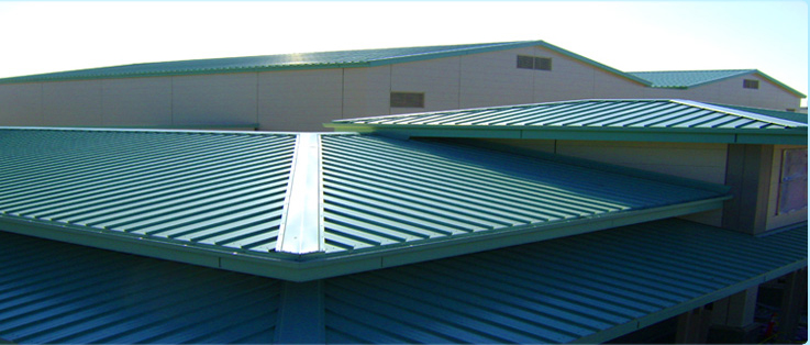 commercial metal roofing commercial kodiak roofing colorado